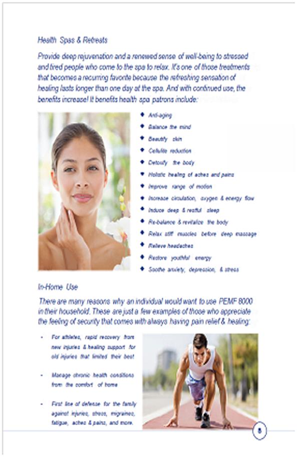PEMF 8000 The way to health