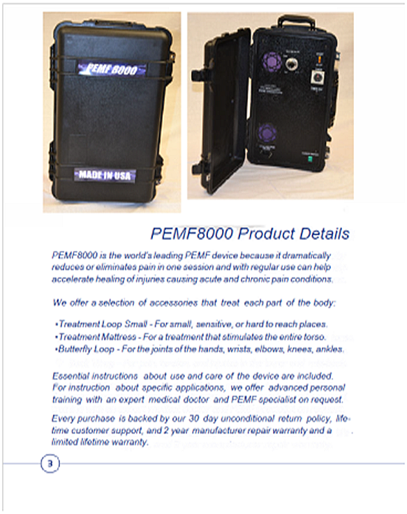 Pemf8000 Discovery