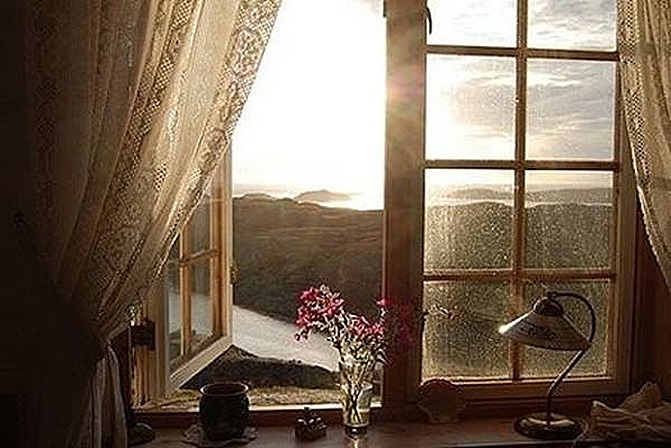 A light through my window
